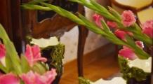 Jesienne kwiaty w Szreniawie